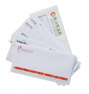 1000 Adet Renkli 10.5x24 Diplomat Zarf